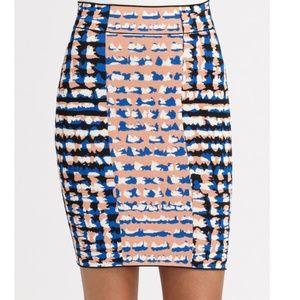 BCBGMAXAZRIA Emery Bandage Skirt